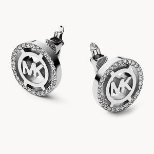 NWT MICHAEL KORS Logo Earrings MKJ4084040